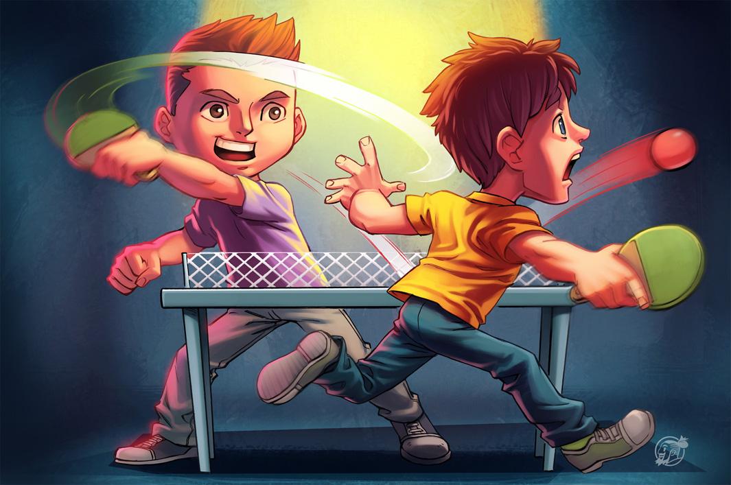 Ping Pong by estivador