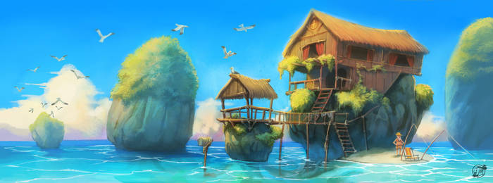 Rock Island by estivador