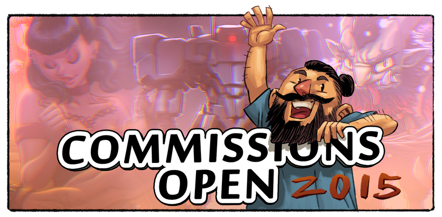 Commission slots for first 2015 half by estivador
