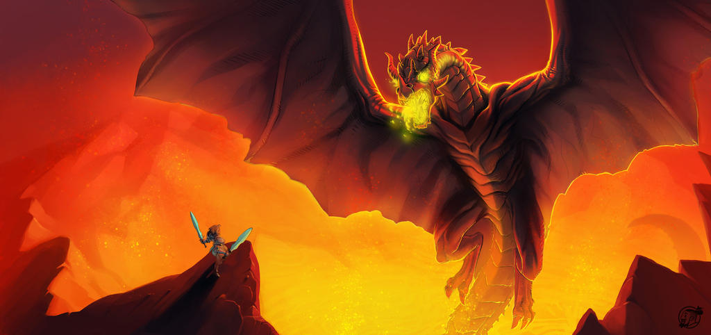 Dragon Killer by estivador