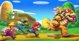 Mario 64 DS by estivador