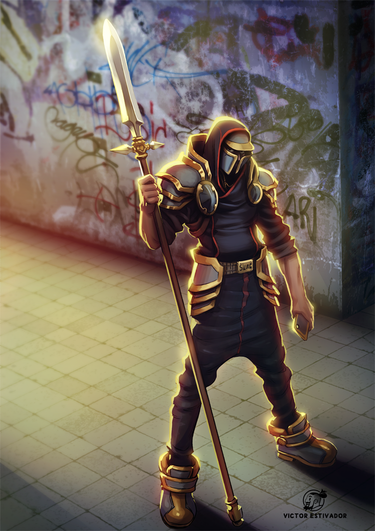 Swag Knight by estivador