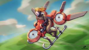 Drone bike