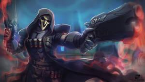 Reaper Overwatch by estivador
