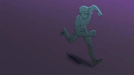 Running man by estivador