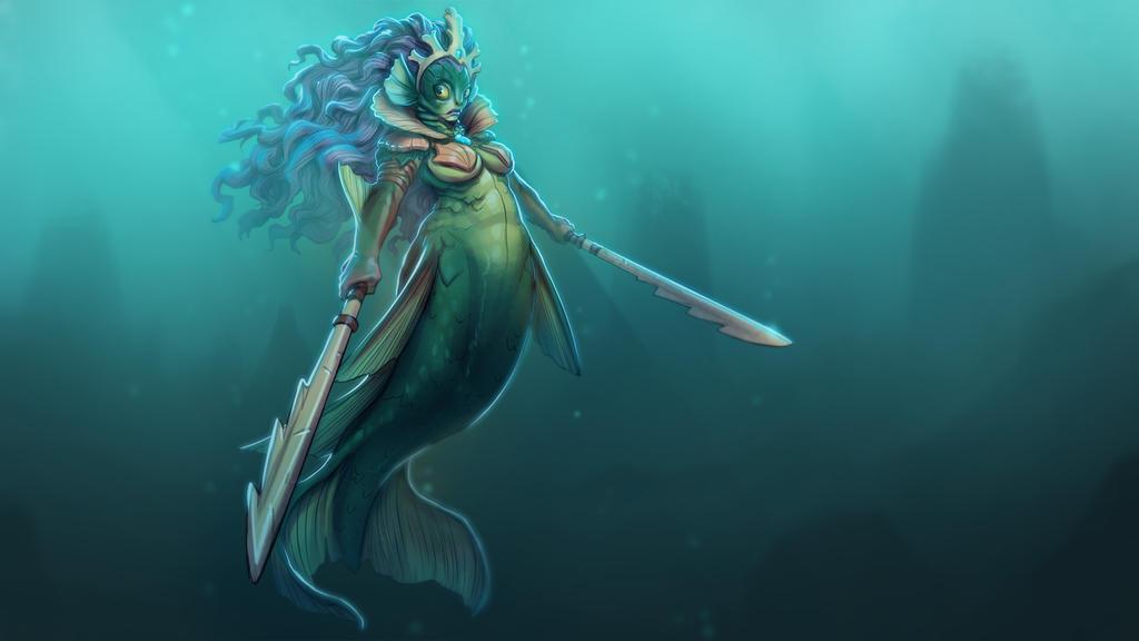 Mermaid by estivador
