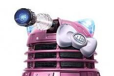 Girl Dalek Head by BritneySweetCore