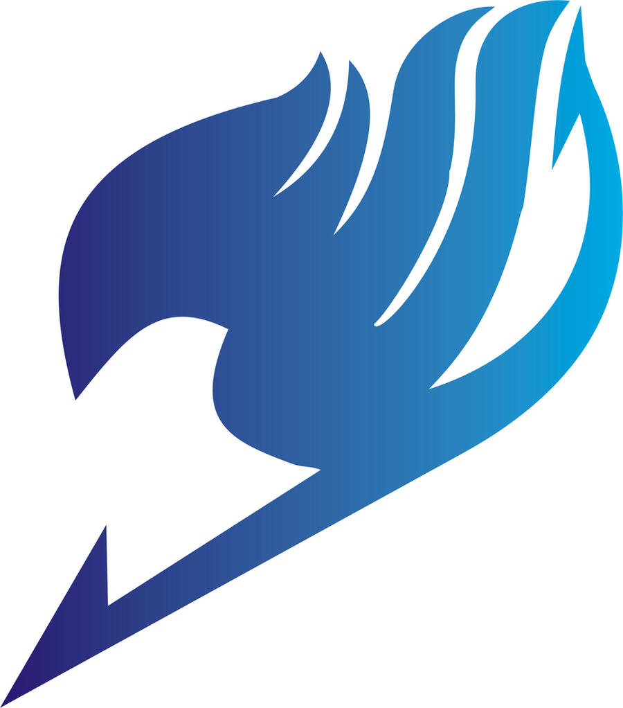 Fairy Tail Guild Mark Logo Dreaming Blue Purple Starry Sky ...  Fairy Tail Guild Logo Blue