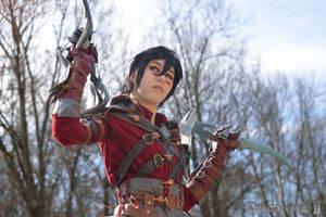 Rogue Marian Hawke Cosplay - Dragon Age II