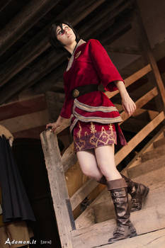 Iconic Finery Lady Hawke cosplay - Dragon Age II