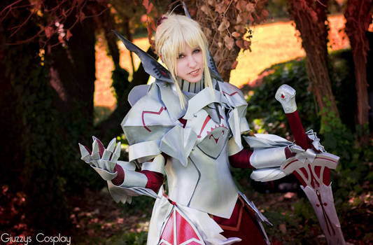 Mordred armor cosplay - Fate/Apocrypha Red Saber