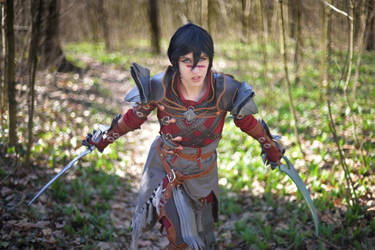 Rogue Hawke Cosplay - Dragon Age II by DrosselTira