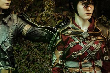 Hawke and Inquisitor Fade - Dragon Age Inquisition