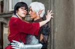 Fenris Hawke Rivalry Romance cosplay - Dragon Age by DrosselTira