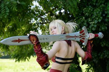 Mordred Saber Fate Apocrypha cosplay