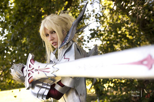 Mordred cosplay armor