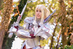 Mordred armor FA Fate/Grand Order cosplay by DrosselTira