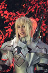 Mordred Cosplay by DrosselTira