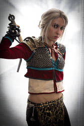 Ciri Alternative Look The Witcher by DrosselTira