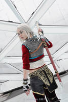 Ciri Zerrikanian Armor The Witcher 3 cosplay by DrosselTira