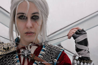 Ciri The Witcher cosplay by DrosselTira