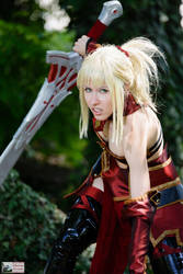 Mordred Armorless Fate Grand Order cosplay
