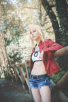 Mordred Casual Jacket cosplay by DrosselTira