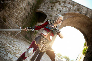 Ciri Alternative Look Witcher cosplay by DrosselTira