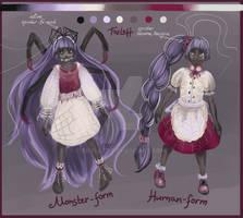 [OPEN] Adopt auction: spider-girl by Foxlatt