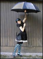 Umbrella V by Eirian-stock