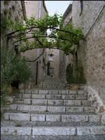 BG Medieval Street I by Eirian-stock