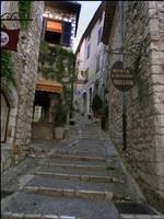 BG Medieval Street II by Eirian-stock