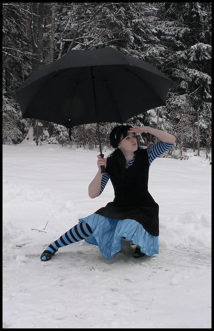The Return Of The Umbrella III by Eirian-stock