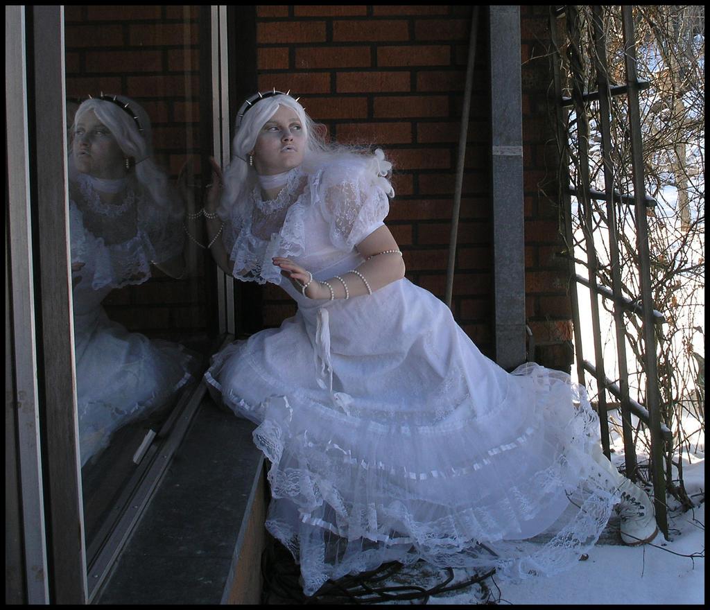 Death Wears White III by Eirian-stock
