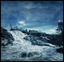 BG Blue Falls by Eirian-stock