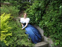 Garden Stairs V by Eirian-stock