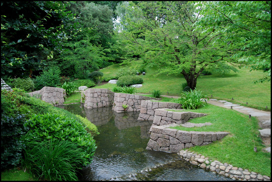 BG Green Garden I by Eirian stock on DeviantArt