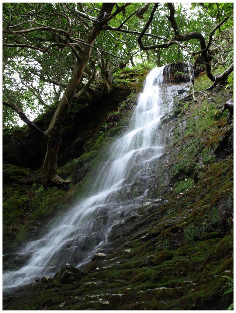 Glendalough Waterfall II by Eirian-stock