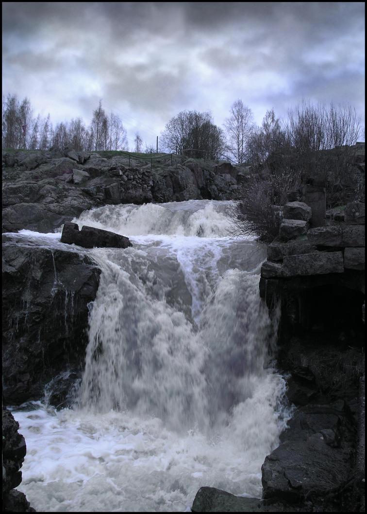 Dark Falls I by Eirian-stock
