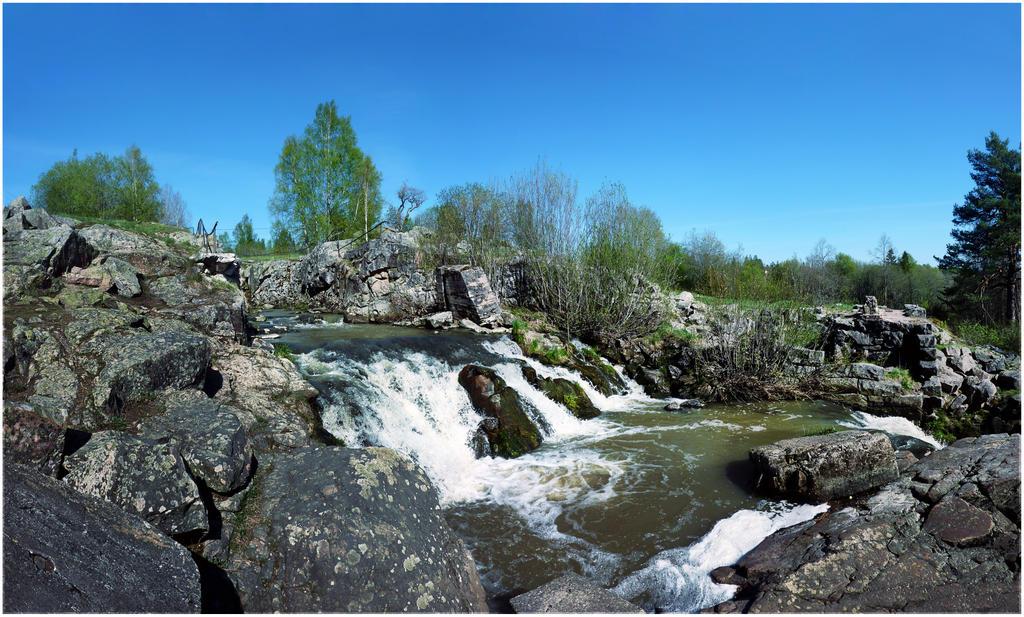 BG Spring Falls by Eirian-stock
