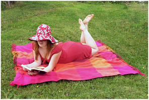 Summer Reading III by Eirian-stock