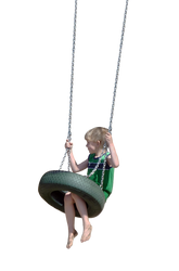 Swinging Boy by Eirian-stock