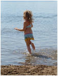Playing In The Water IV by Eirian-stock