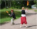 Flaming Swords II