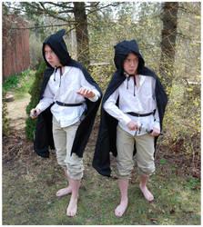 Hobbits by Eirian-stock