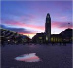 BG Sunset In The City
