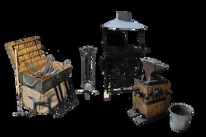 Blacksmith Tools by Eirian-stock