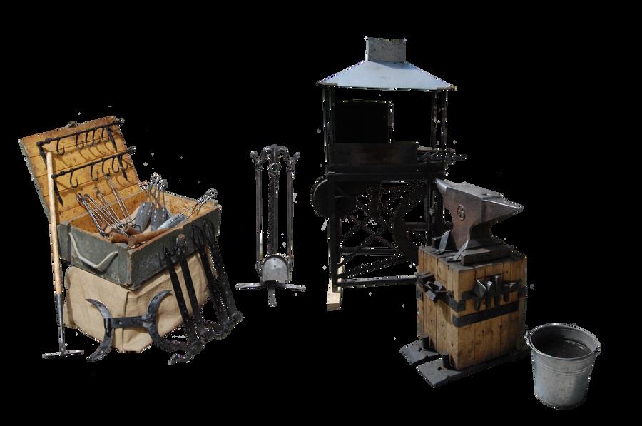 Blacksmith Tools by Eirian-stock on DeviantArt