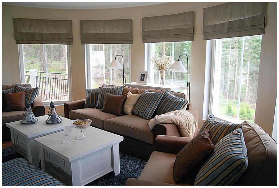 BG Brown Living Room