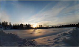 BG January Sunset